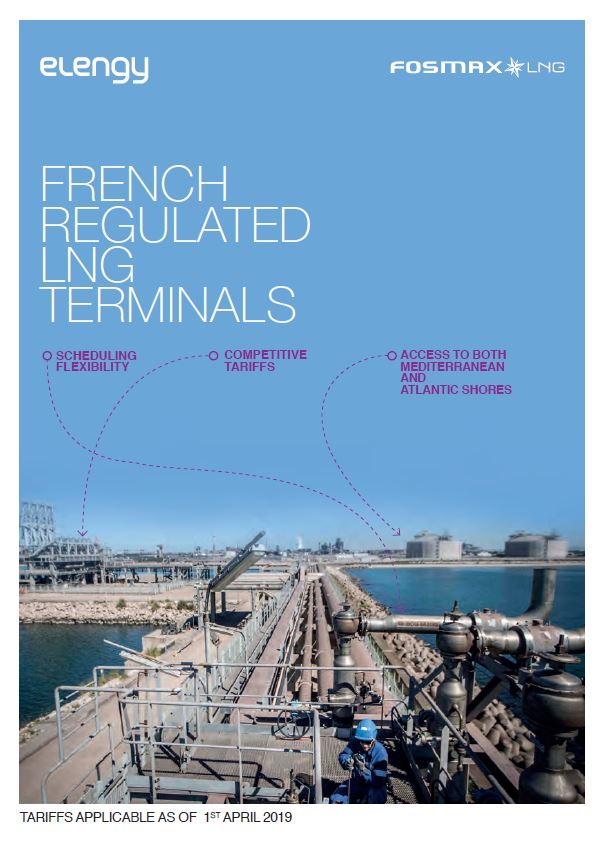 Fr regulated LNG terminals tariffs 2019