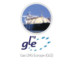 logo GLE LNG terminals transparency template